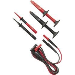 Varnostni-merilni kabelski komplet [ lamelni vtič 4 mm - lamelni vtič 4 mm] 1.50 m črne barve, rdeče barve Fluke TL223-1