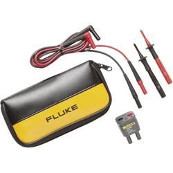 Varnostni-merilni kabelski komplet [ lamelni vtič 4 mm - lamelni vtič 4 mm] 1.50 m črne barve, rdeče barve Fluke TL225-1