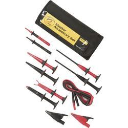 Varnostni-merilni kabelski komplet [ lamelni vtič 4 mm - lamelni vtič 4 mm] 1.50 m črne barve, rdeče barve Fluke TLK-225-1