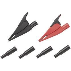 Komplet sigurnosnih stezajki utični priključak 4 mm CAT III 1000 V, CAT IV 600 V crna. crvena Fluke AC285-FTP