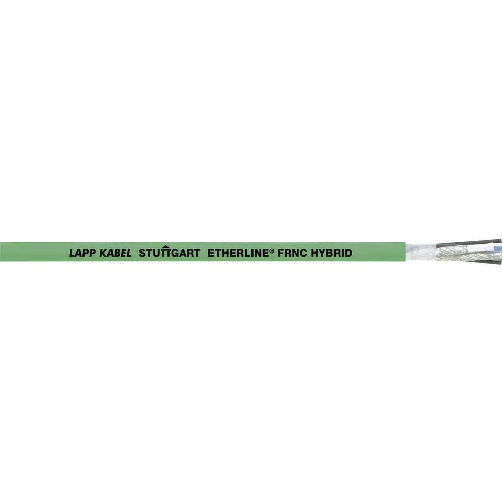 Omrežni kabel CAT 5 SF/UTP 2 x 2 x 0.32 mm + 4 x 1.50 mm zelene barve LappKabel 2170887 100 m