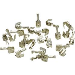 Ploščati tulec s konektorjem, širina vtiča: 6.3 mm debelina vtiča: 0.8 mm neizoliran LappKabel 63501150 100 kosov