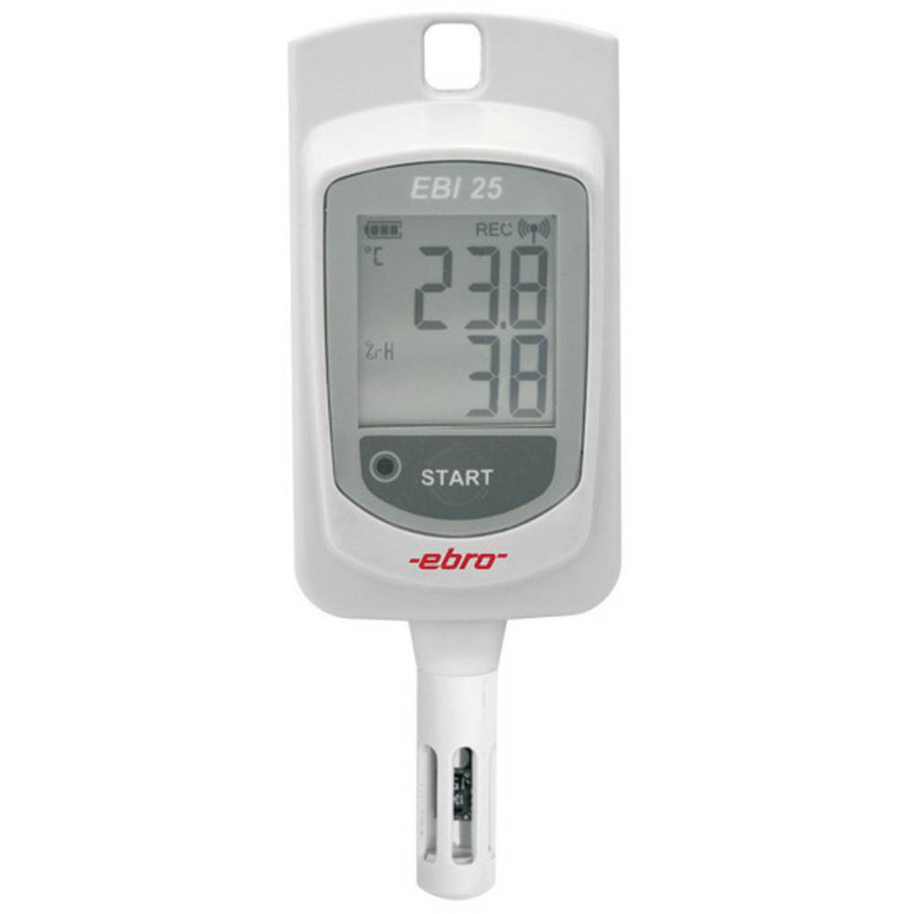 ebro EBI 25-TH Shranjevalnik podatkov temp. in vlage, zapisovalnik meritev, -30 do +60 °C 1340-6202