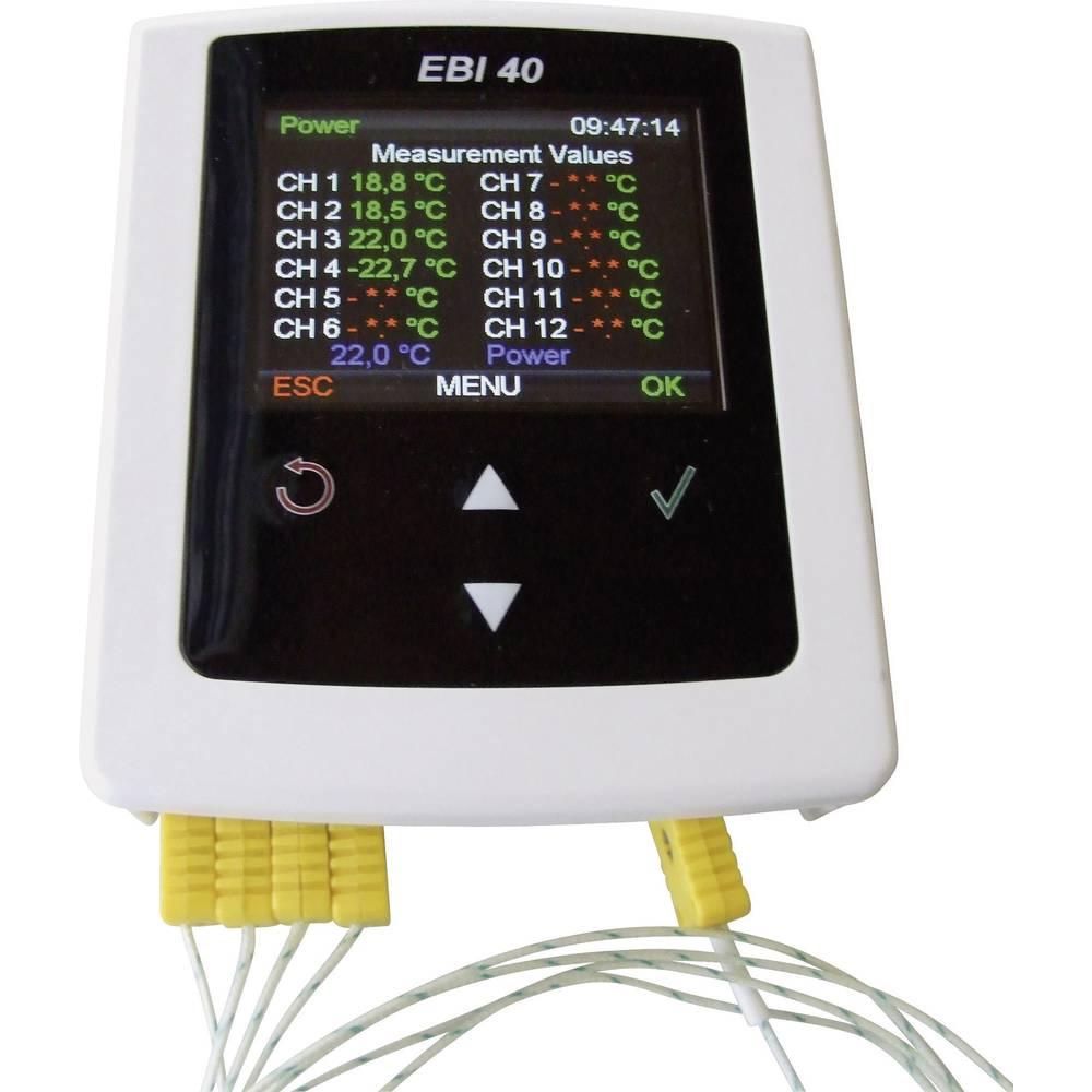 ebro EBI 40 TC-02 shranjevalnik podatkov, zapisovalnik meritev, Shranjevalnik 20000 izme.j 1340-6401