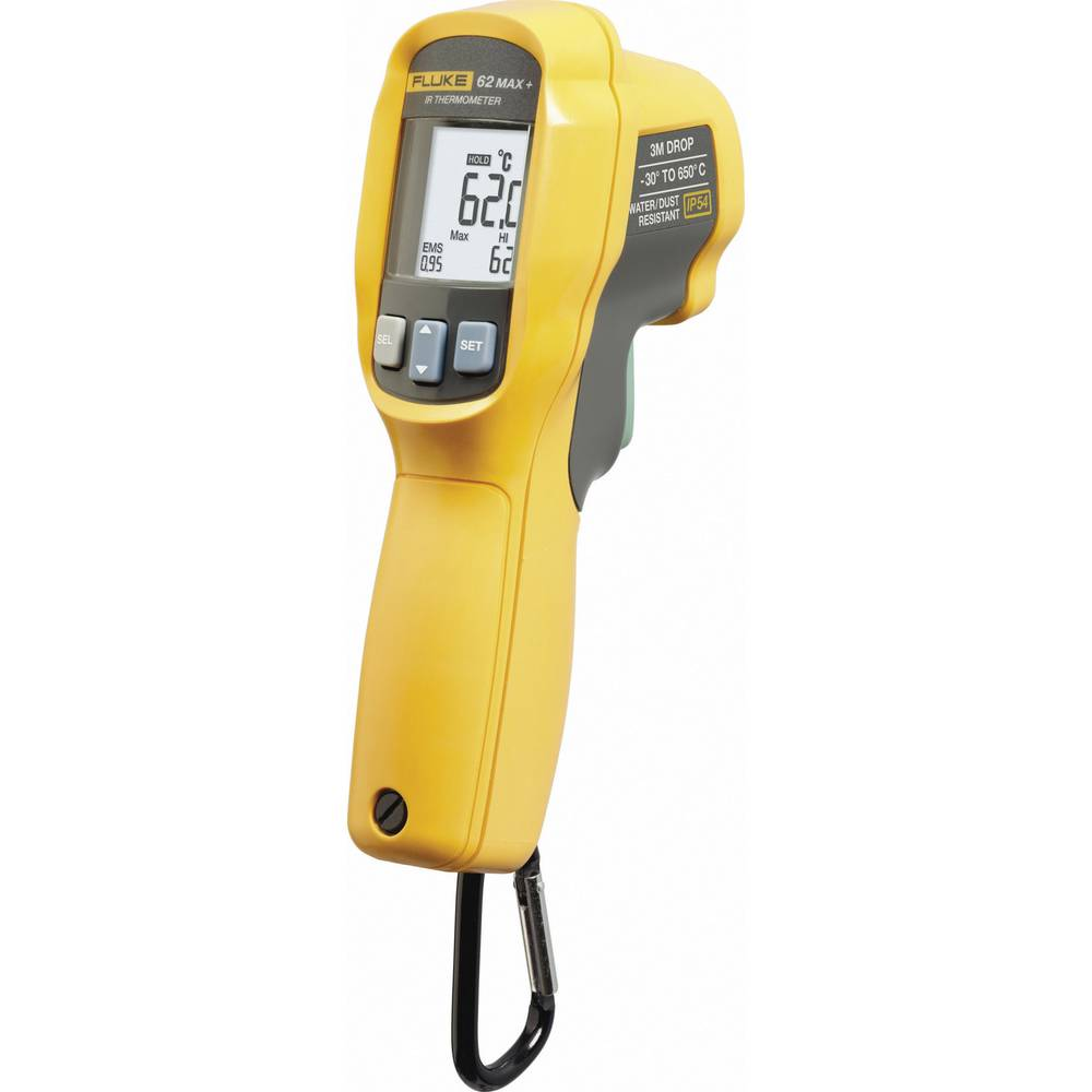 Infrardeči termometer Fluke-62 MAX PLUS optika 12:1 -30 do +650 °C