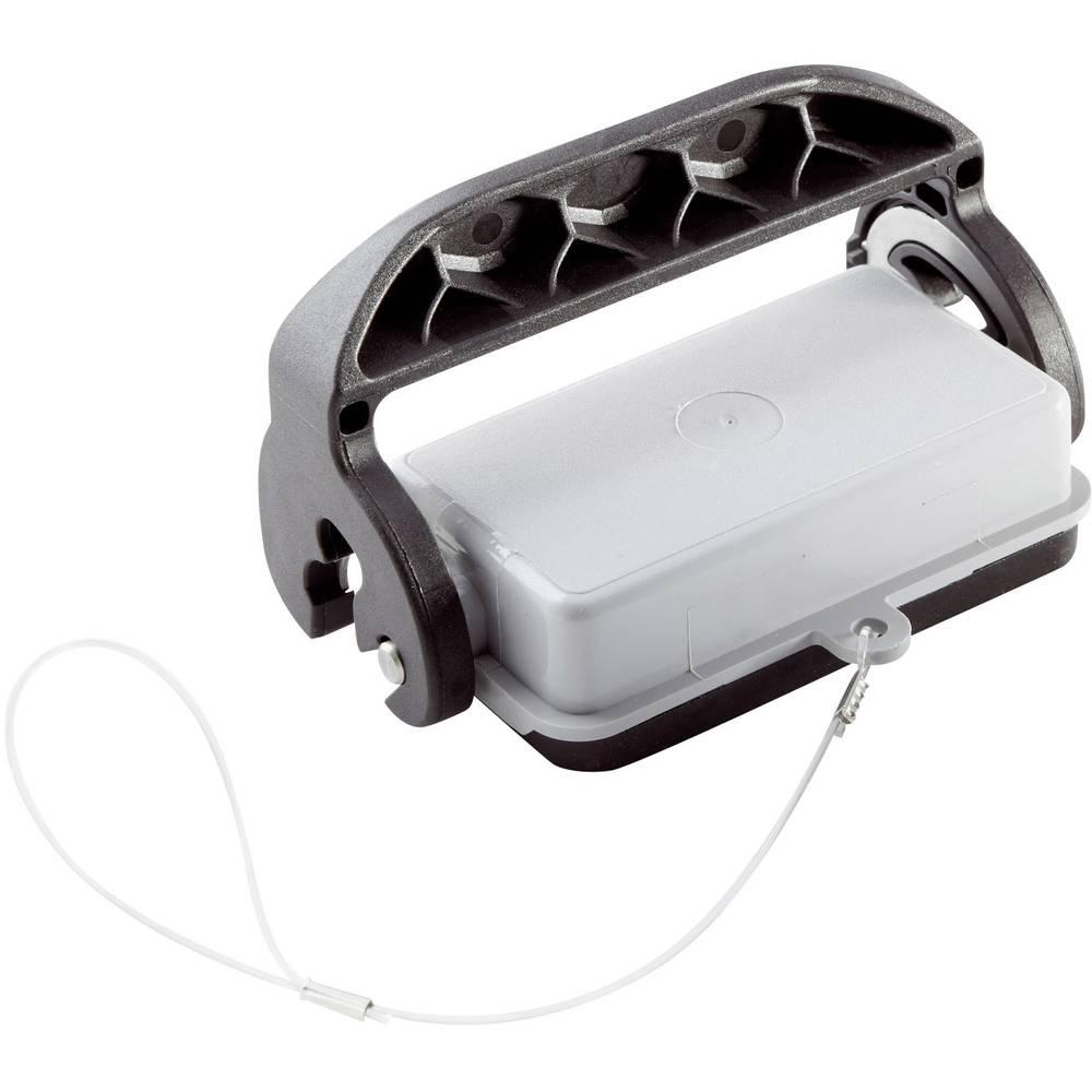 Zaščitni pokrov z ročico za pokrov, z vrvico z ušescem, serija H-B 10 H-B 10 10048600 LappKabel 10 kosov