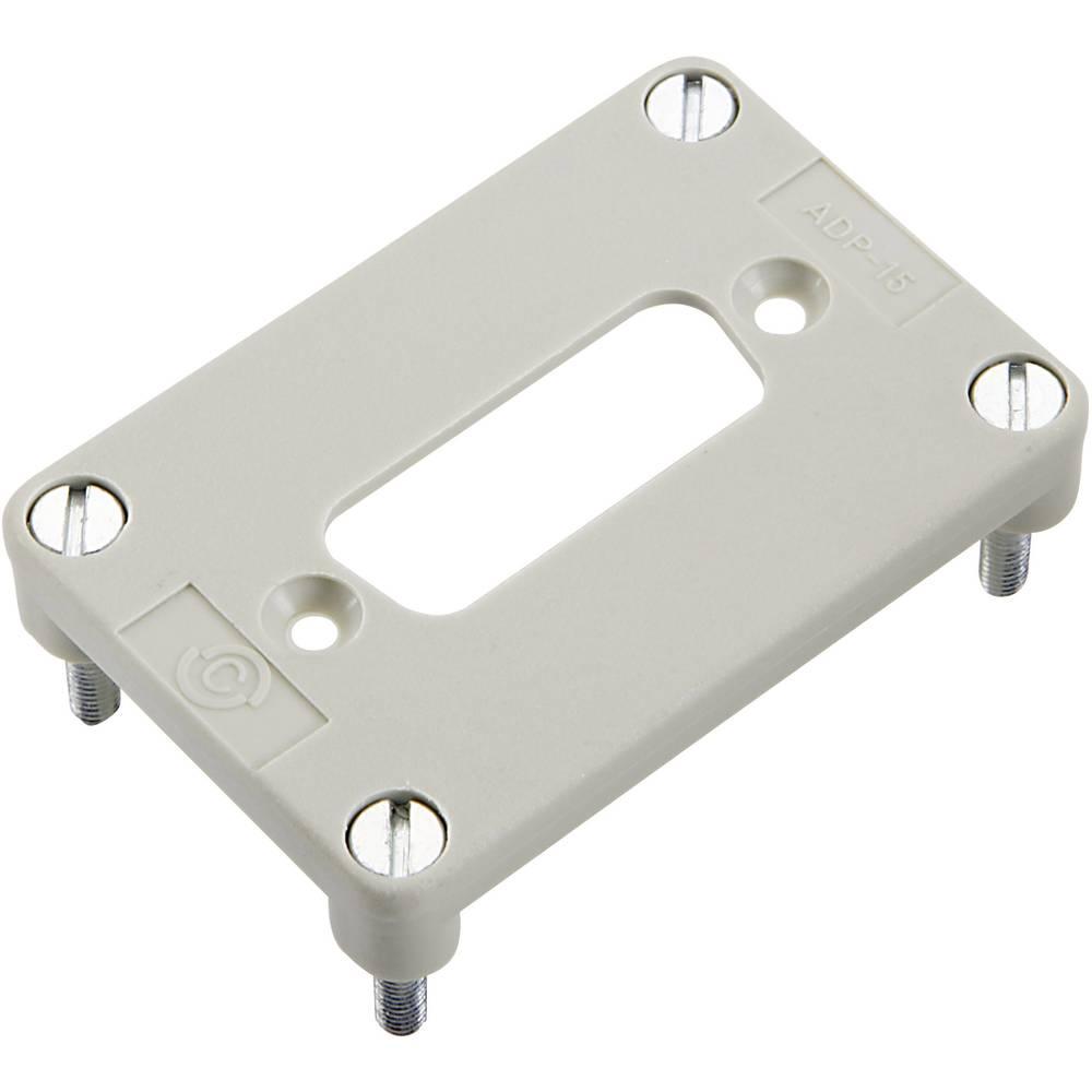 Adapterska plošča za 1 D-SUB enoto 15-polno, serija H-B 6 H-B 6 11764202 LappKabel 10 kosov