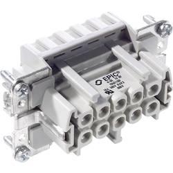 Vtična enota EPIC® H-BE 10 10401100 LappKabel skupno število polov 10 + PE 10 kosov