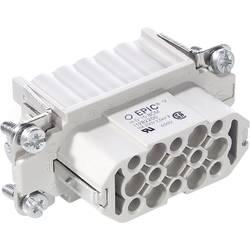 Vtična enota EPIC® H-D 15 11256000 LappKabel skupno število polov 15 + PE 5 kosov