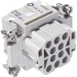 Tilslutningsindsats EPIC® H-EE 10 10181400 LappKabel Samlet poltal 10 + PE 10 stk