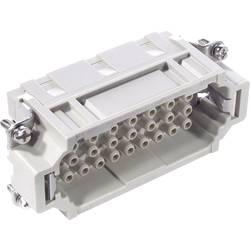 Stiftindsats EPIC® H-EE 32 10184400 LappKabel Samlet poltal 32 + PE 5 stk