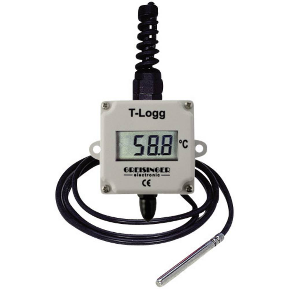 Kalib. ISO-Greisinger T-Logg 100 E uređajza zapisivanje i pohranu mjernih podataka, 16000, od -25,0 600681