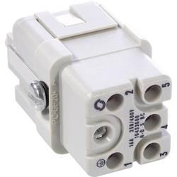 Tilslutningsindsats EPIC® H-Q 5 10432500 LappKabel Samlet poltal 5 + PE 10 stk