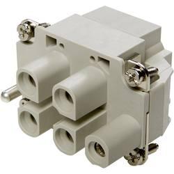 Stiftindsats EPIC® Power H-S 10407900 LappKabel Samlet poltal 4 + PE 10 stk