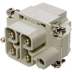 Tilslutningsindsats EPIC® Power H-S 10407910 LappKabel Samlet poltal 4 + PE 10 stk