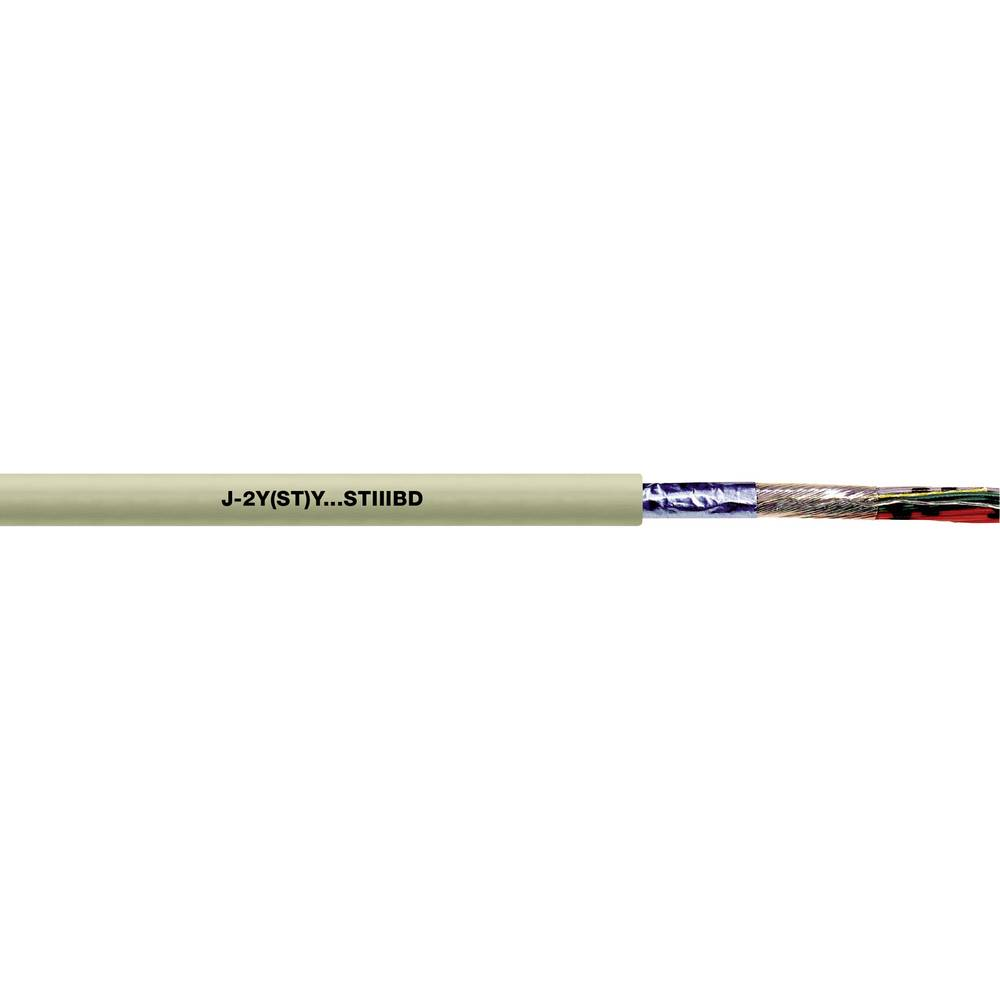 Telefonski kabel J-2Y(ST)Y...ST III BD 2 x 2 x 0.28 mm sive barve LappKabel 0034171 500 m