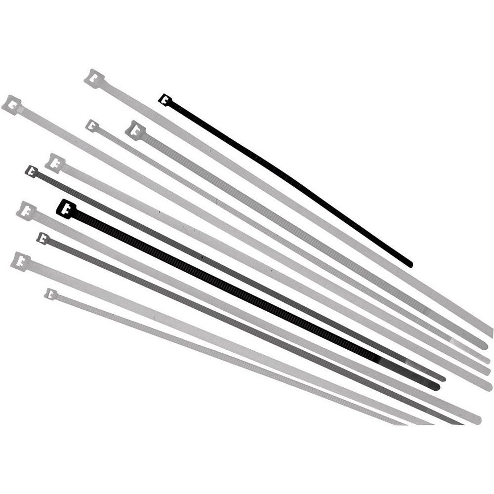 Kabelske vezice 450 mm črne barve UV-stabilno LappKabel 61831063 100 kos