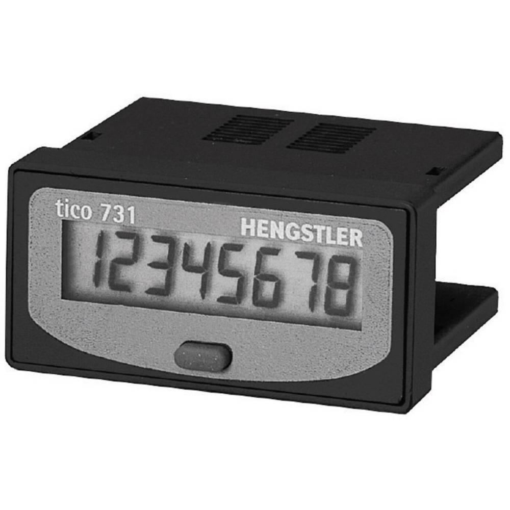 Impulzni in časovni števec Hengstler Tico 731, litijeva baterija, 8-mestni CR0731101