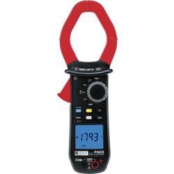 Kal.-ISO Tokovne klešče, digitalni ročni multimeter Chauvin Arnoux F603 CAT IV 1000 V št. mest na zaslonu: 10000