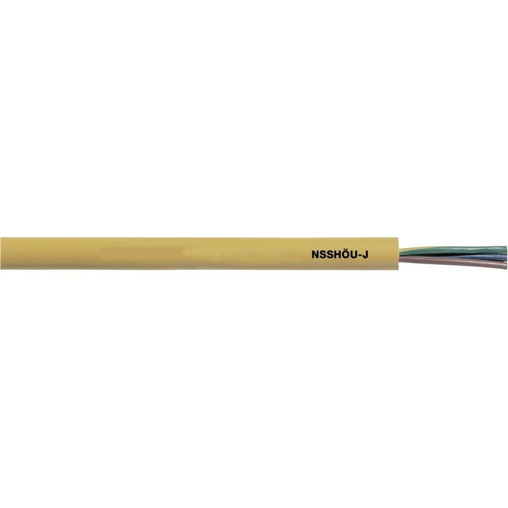 Priključni vodnik NSSHÖU-J 4 G 2.5 mm rumene barve LappKabel 16005253 50 m