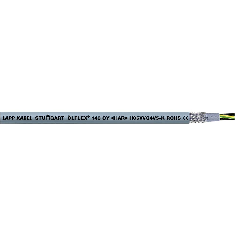 Krmilni kabel ÖLFLEX® 140 CY 3 G 0.75 mm sive barve LappKabel 0035710 100 m