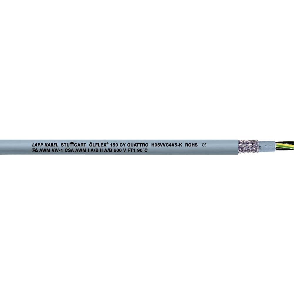 Krmilni kabel ÖLFLEX® 150 CY 5 G 1 mm sive barve LappKabel 0015705 75 m