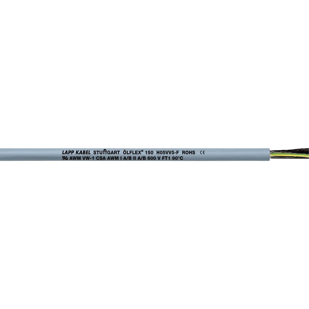 Krmilni kabel ÖLFLEX® 150 2 x 0.75 mm sive barve LappKabel 0015102 300 m