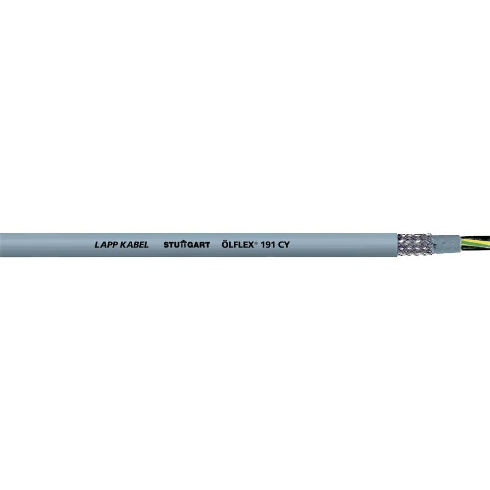 Krmilni kabel ÖLFLEX® 191 CY 3 G 1.5 mm sive barve LappKabel 0011187 75 m