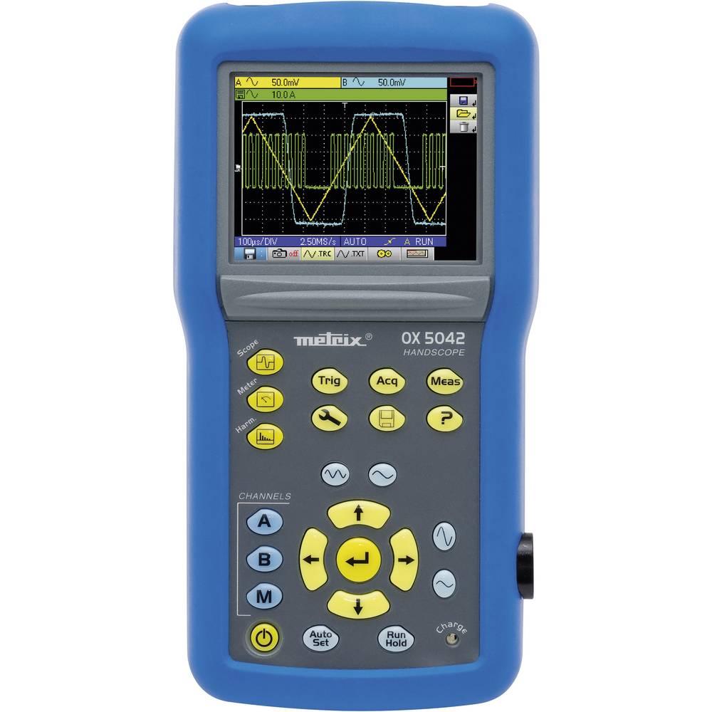 Ročni osciloskop (Scope-Meter) Metrix OX5022-CK 20 MHz 2-Kanal 50 MSa/s 2.5 kpts 9 Bit digitalni pomnilnik (DSO), ročna naprava,