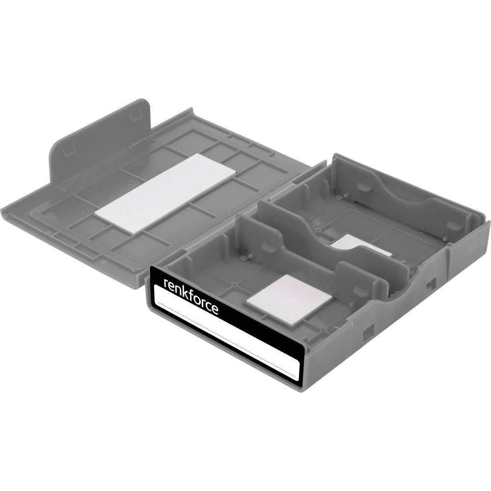 Kutija za pohranjivanje univerzalnih tvrdih diskova Renkforce HY-EB-8500 siva
