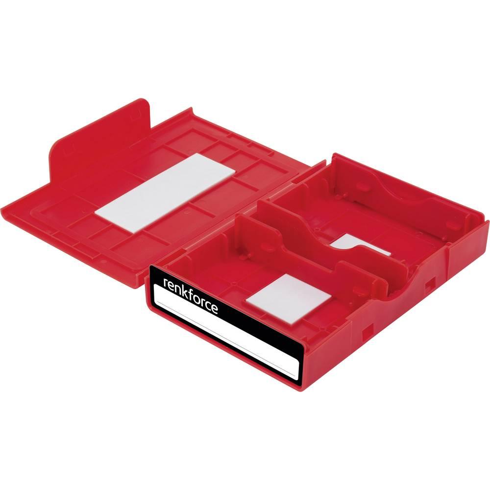 Kutija za pohranjivanje univerzalnih tvrdih diskova Renkforce HY-EB-8500 crvena