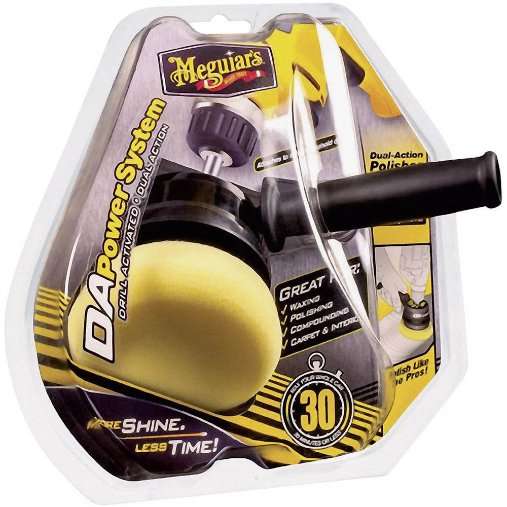 Stroj za poliranje Meguiars DA Power System Polieraufsatz 1200 - 3500 RPM 102 mm 650185