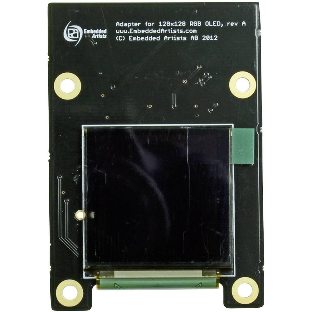 RGB-OLED-modul Embedded Artists, 128 x 128 pikslov, EA-LCD-008