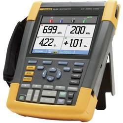 Kal. DAkkS Ročni osciloskop (Scope-Meter) Fluke 190-204/EU 200 MHz 4-kanalni, 2.5 GSa/s 10 kpts 8 Bit kalibracija narejena po DA