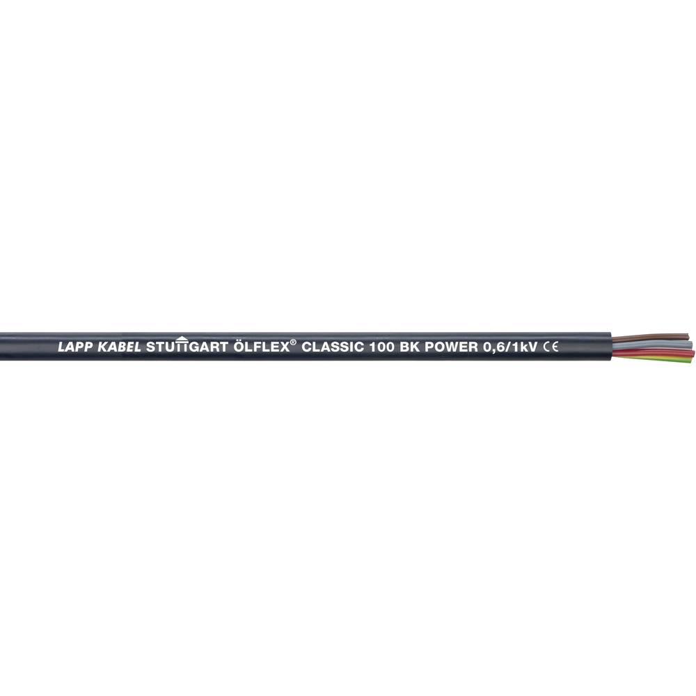 Krmilni kabel ÖLFLEX® CLASSIC 100 BK POWER 3 G 1 mm črne barve LappKabel 1120457 50 m