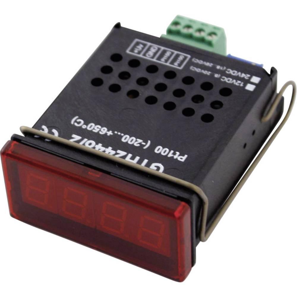 Merilnik temperature Greisinger GTH 2448/4 -200 do +650 °C vrsta tipala: Pt1000 kalibracija narejena po: delovnih standardih