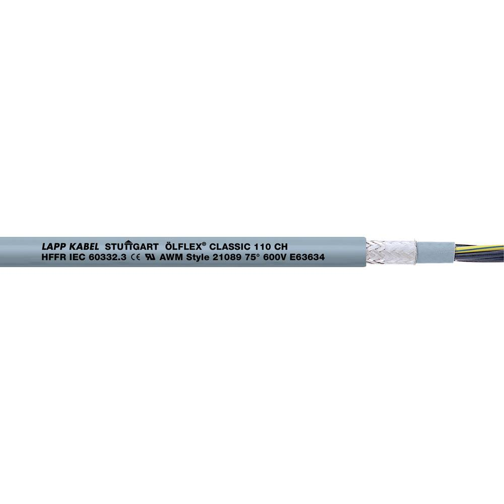 Krmilni kabel ÖLFLEX® CLASSIC 110 CH 5 G 1.5 mm sive barve LappKabel 10035071 100 m