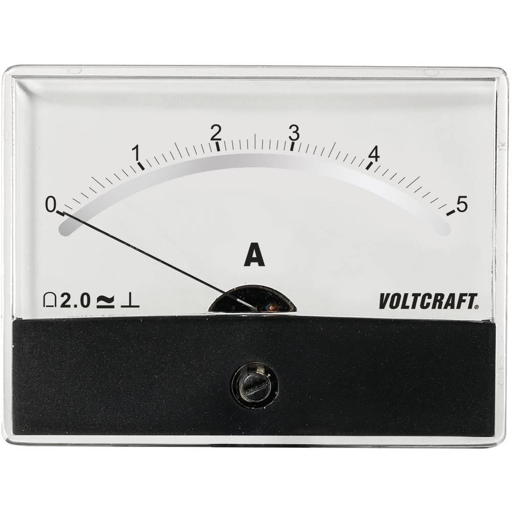 VOLTCRAFT AM-86X65/5A/DC ugradbeni mjerni uređaj AM-86X65/5A/DC 5 A pomični svitak