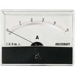 Analog panelmätare VOLTCRAFT AM-86X65/5A/DC
