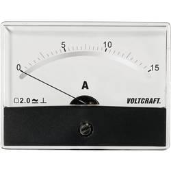 Analog panelmätare VOLTCRAFT AM-86X65/15A/DC