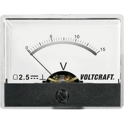 Analog panelmätare VOLTCRAFT AM-60X46/15V/DC 15 V Vridspole