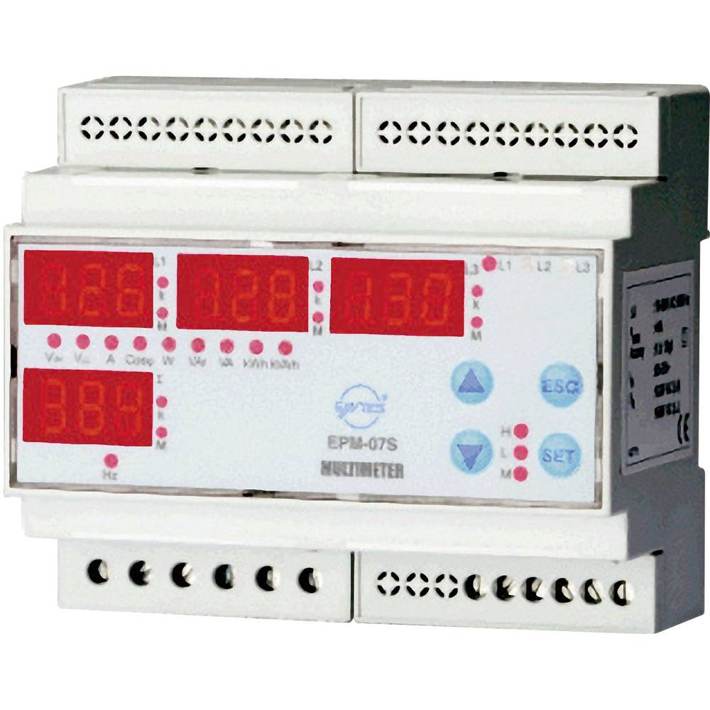 ENTES EPM-07S-DIN analizator omrežja EPM-07S-DIN