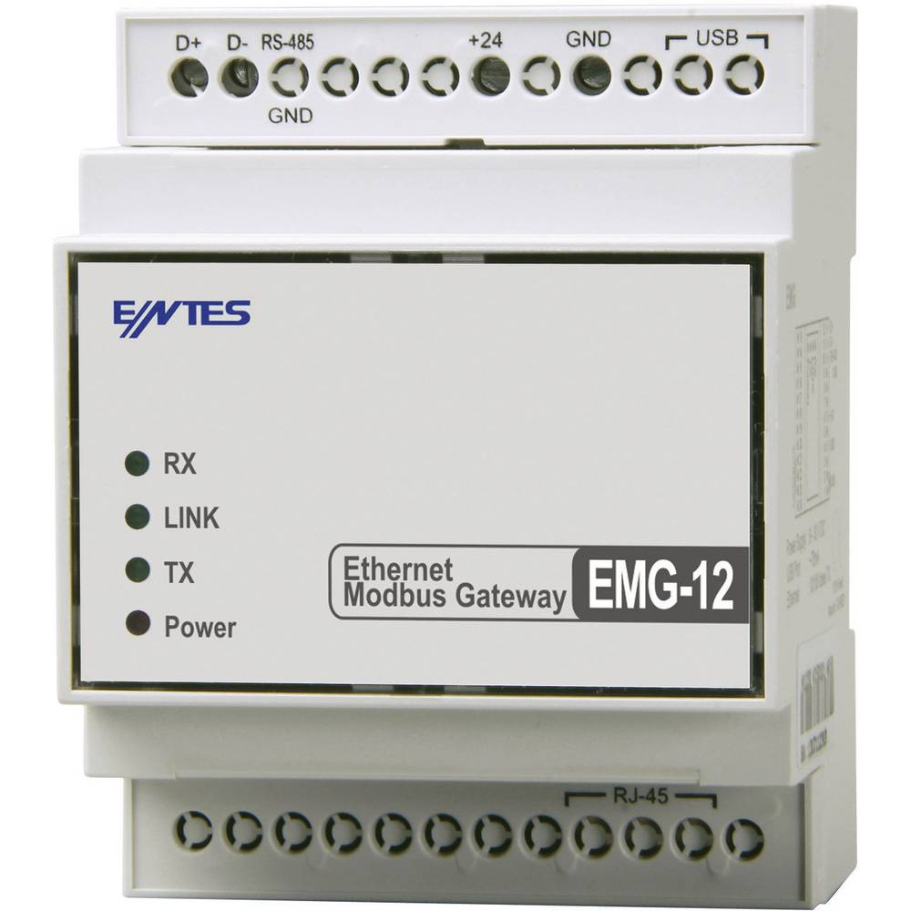Gateway RS-485, USB ENTES EMG-12 12 V/DC, 24 V/DC