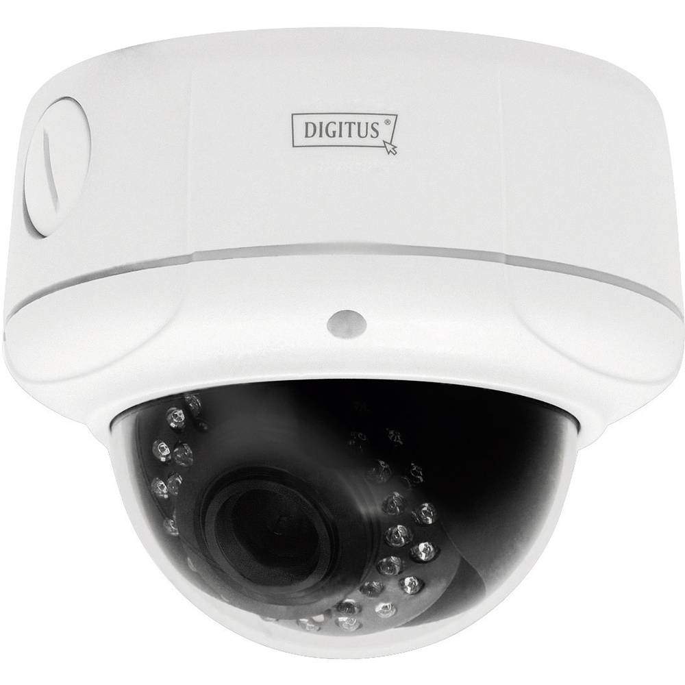 Digitus Nadzorna/mrežna kamera WLAN Plug & View vanjska IP-kamera s IP66 kućištem i optičkim zumom DN-16043