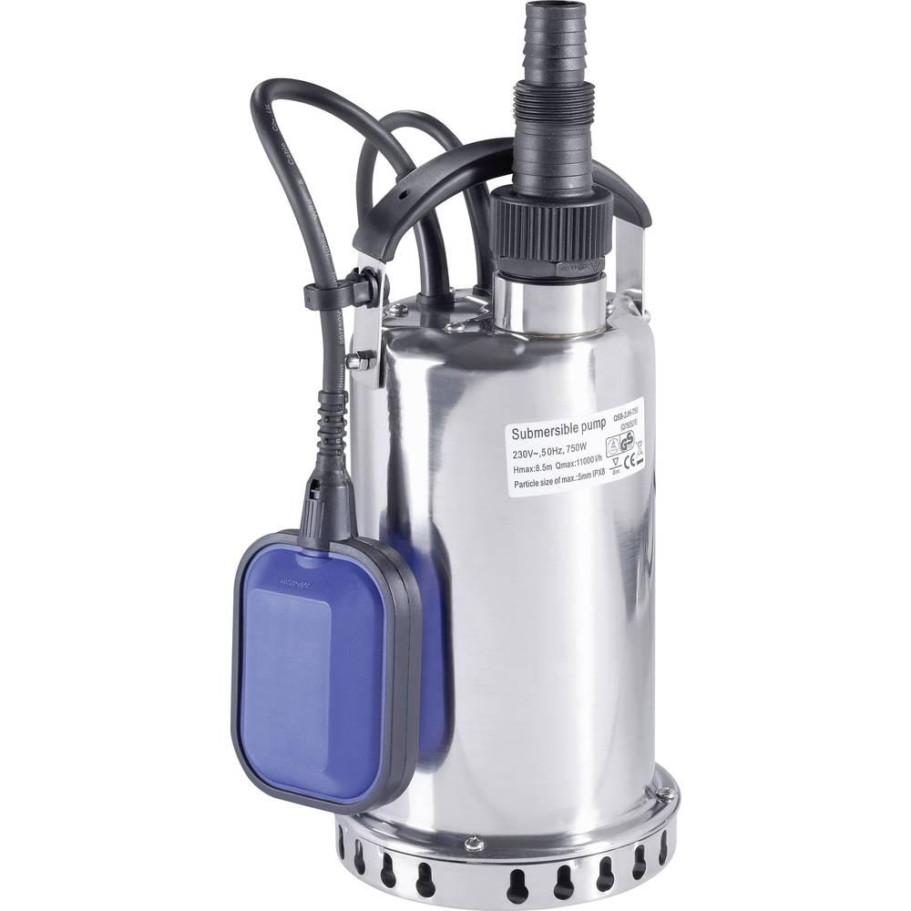 Potopna pumpa za čistu vodu Renkforce 1034065 11000 l/h 7.5 m