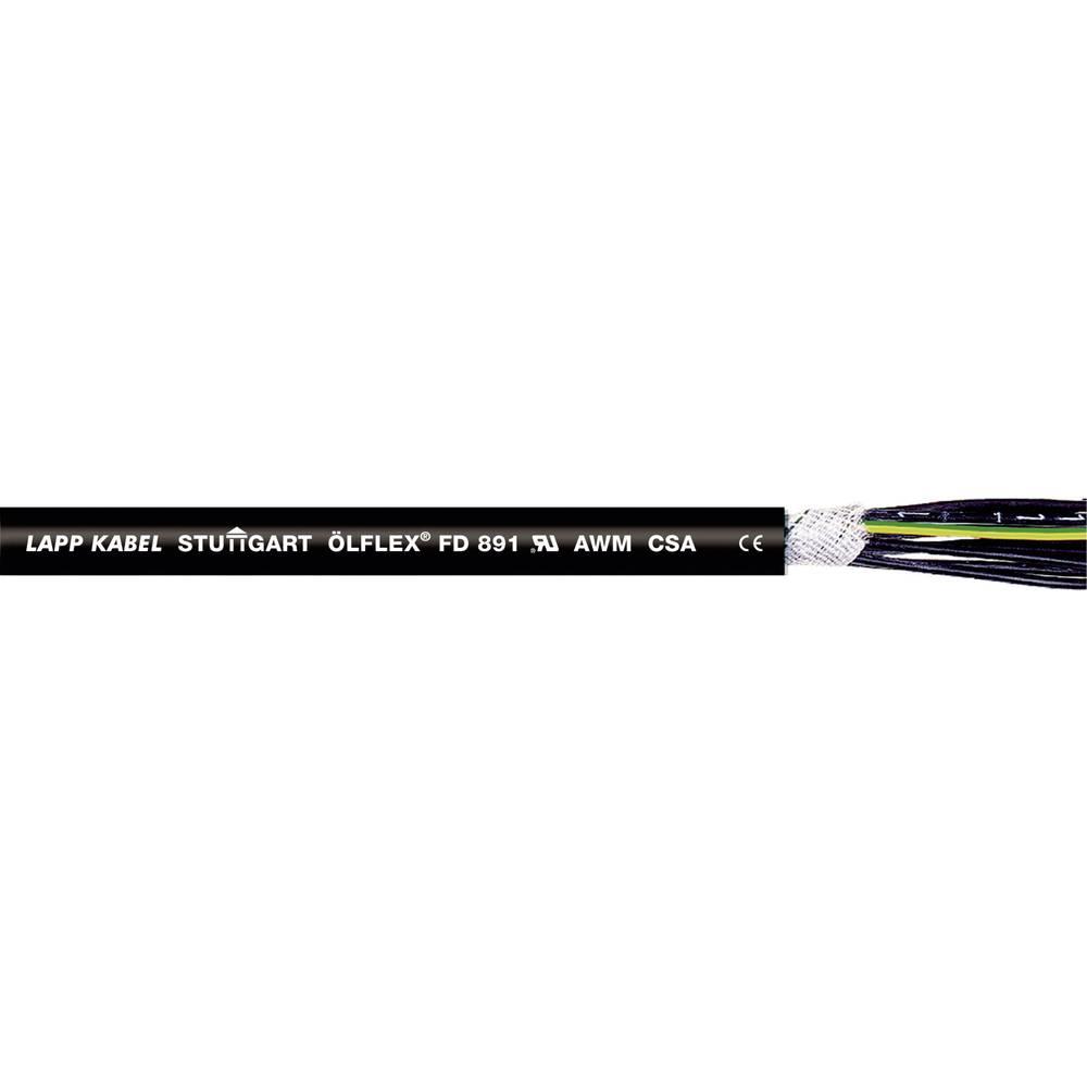 Kabel za energetski lanac ÖLFLEX® FD 891 7 G 1 mm crne boje LappKabel 1026128 250 m