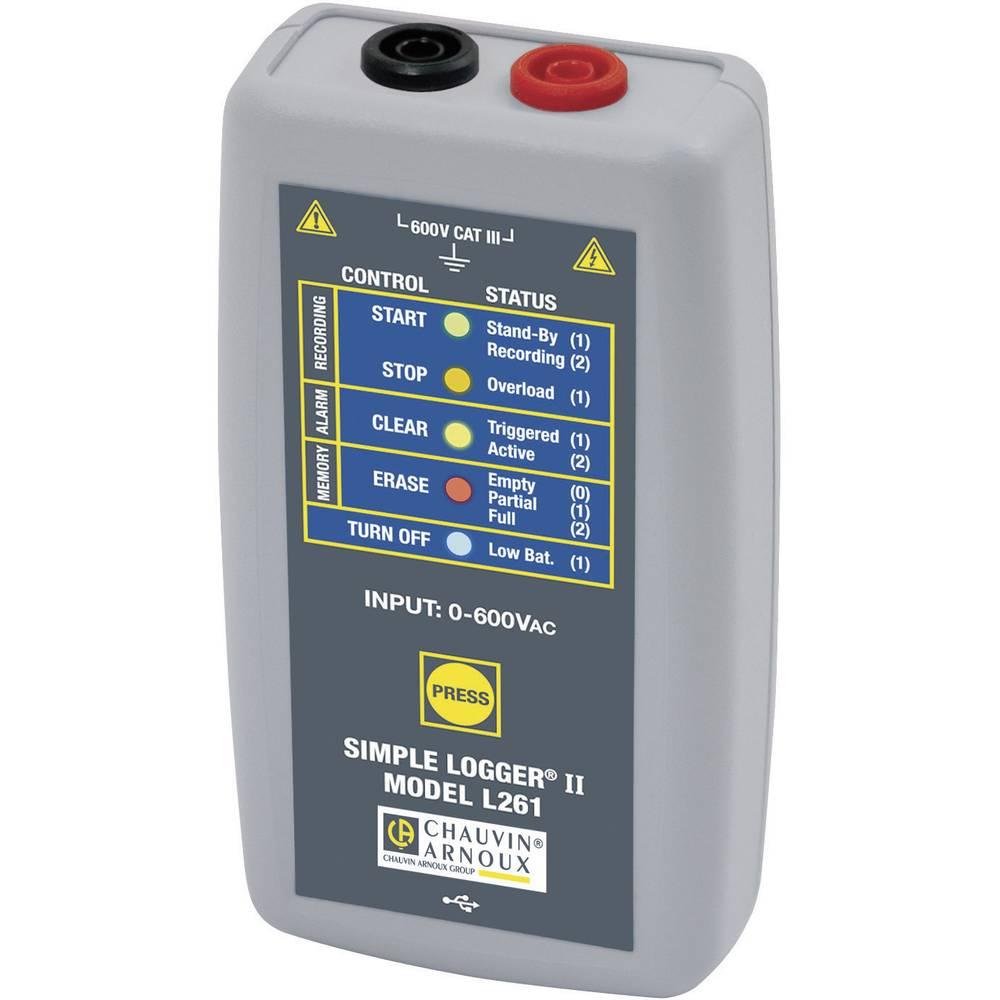 Chauvin Arnoux P01157040 shranjevalnik izmerjenih podatkov o napetosti