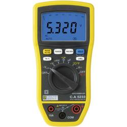 Ročni multimeter, digitalni Chauvin Arnoux CA5233 kalibracija narejena po: delovnih standardih, CAT IV 600 V število znakov na z