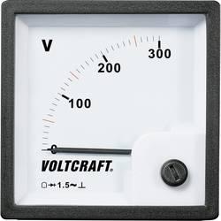 VOLTCRAFT AM-72x72/300V analogni ugradbeni mjerni uređaj AM-72x72/300V 300 V pomični svitak
