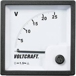 VOLTCRAFT AM-72x72/25V analogni ugradbeni mjerni uređaj AM-72x72/25V 25 V pomični svitak